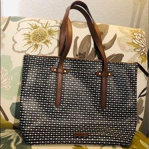 FOSSIL shoulder tote bag large GREAT BAG!
